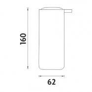 Lanová zábrana s informačnou tabuľou BP230Bss