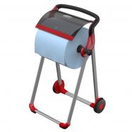 Bufetový modul nerezový s nástavcem se 6 otvory a poklopem Roll-Top